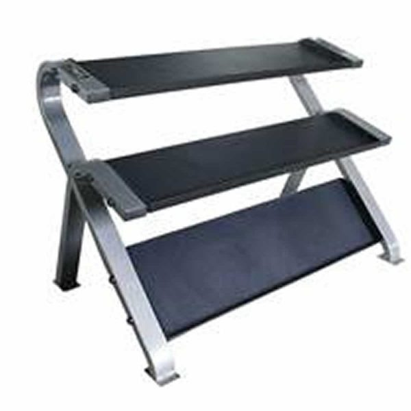 3 TIER HORIZONTAL DUMBBELL Set with RACK