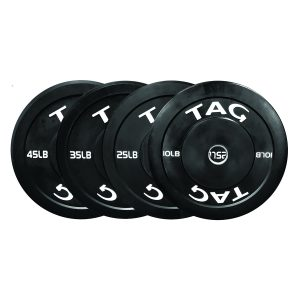 TAG Fitness Bumper Plate