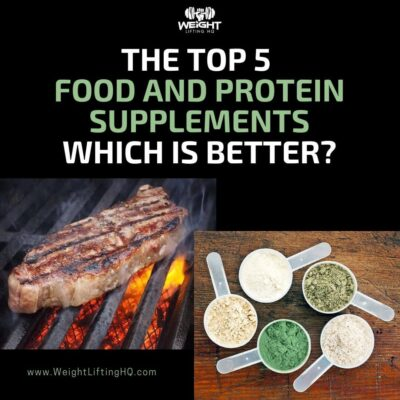 food vs protein supplements, what is best
