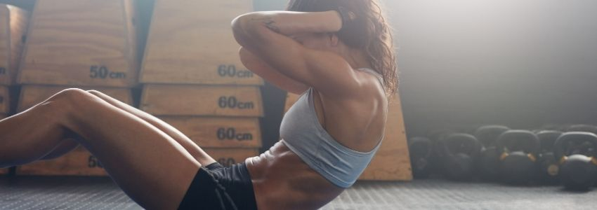Tip One The Workout to get ripped abs