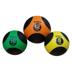 medicine ball set with rack
