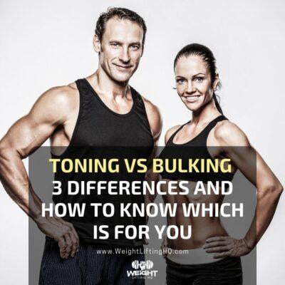 toning vs bulking