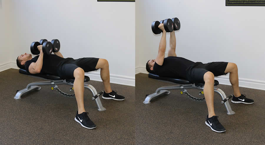 Image of a man performing the exercise